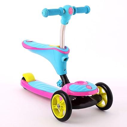 Patinete- Scooter 2-8 años de Edad Niño Pedal para ...
