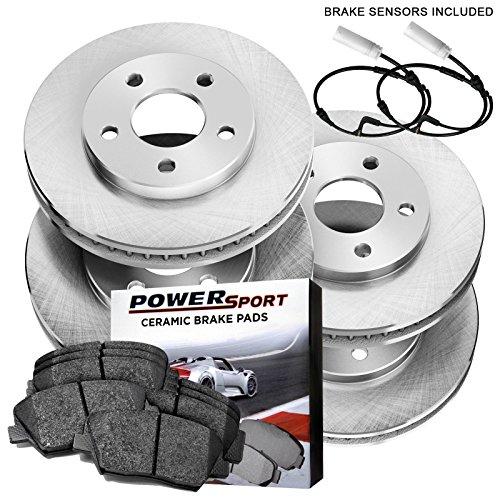 - Full Kit Replacement Brake Rotors and Ceramic Pad 2001-2005 BMW 330Ci,330i,330xi