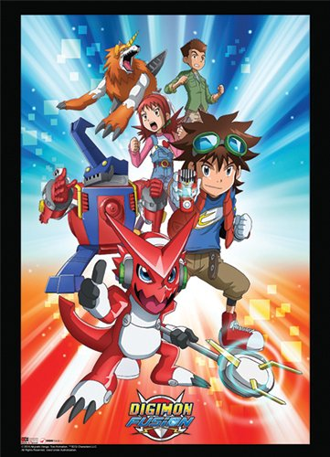 Wall Scroll - Digimon - New Fusion Group 1 Art Toys ge60896 (Fusion Scrolls)