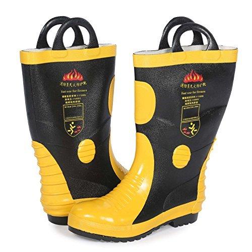 Holulo Firefighter Felt Lined Waterproof FR Boot (US9-95 - (Wildland Turnout Gear)
