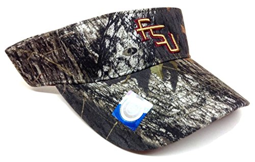 FSU Florida State Seminoles Mossy Oak Camo Visor (Decals Visor Football)