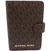 Michael Kors Jet Set Travel Passport Case Wallet (Brown PVC 2018)