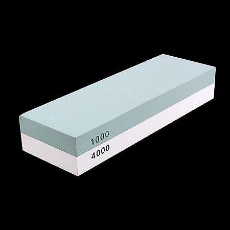 Whetstone Sharpening Stone 1000//4000 Sharpener Waterstone Rubber Stone Holder