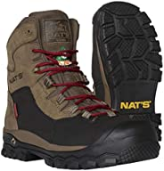 NAT'S S620 100% Waterproof Steel Toe Boots for Men - CSA Approved Work Boots - Ultralight (2.2 lbs), Breat