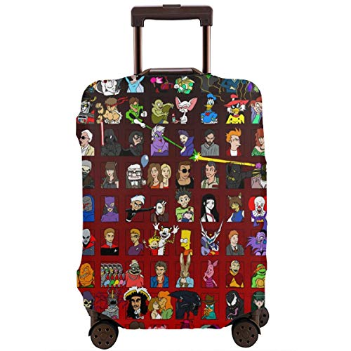 Anime Venom Star War Avatar Transformers Simpsons Travel Luggage Cover Suitcase Protector Washable Baggage Luggage…