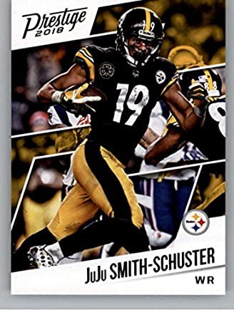 afe3e183b 2018 Prestige NFL  194 JuJu Smith-Schuster Pittsburgh Steelers Panini  Football Card