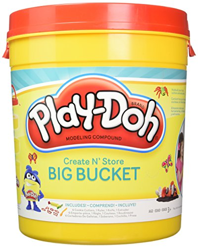 Play Doh Create N' Store Big Bucket (Play Doh Bucket)