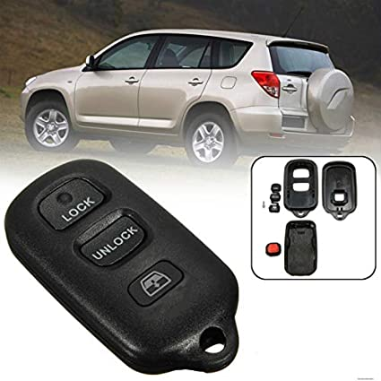 Panic for Toyota Sequoia 4-Runner 4Runner 2003-2008 Keyless Case Replacement Remote car Key Shell fob Cover housing 3 Button