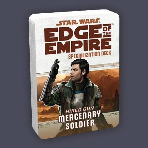 Star Wars: Edge Of The Empire Specialization Deck: Mercenary Soldier (Star Wars Edge Of The Empire Dice)