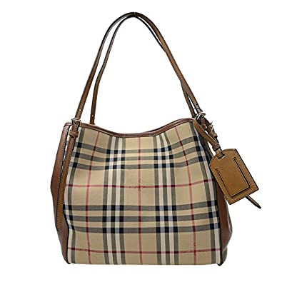 cce91b25f6da NEW BURBERRY HANDBAG 3939377 PVC BROWN Shoulder Bag  Amazon.co.uk  Shoes    Bags
