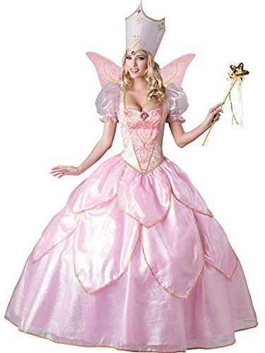 InCharacter Costumes Women's Fairy Godmother Costume, Pink, Medium -