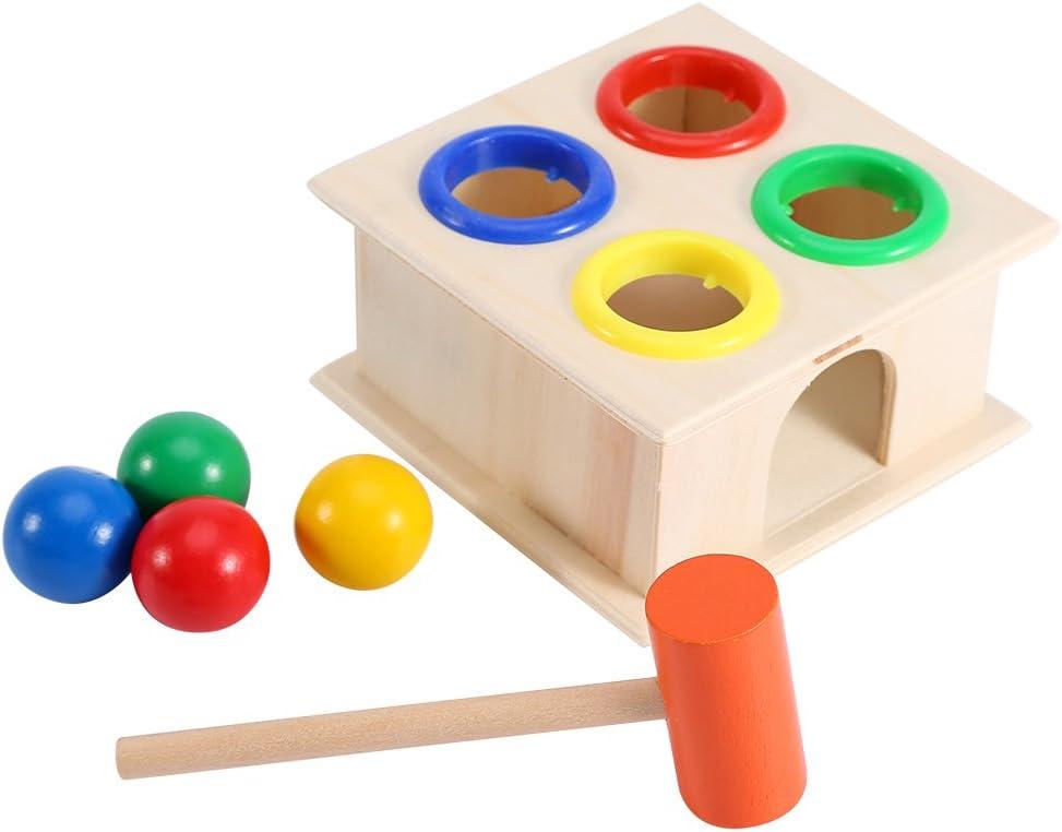 Martillo Caja de juguete para niños Educación Aprendizaje Temprano ...