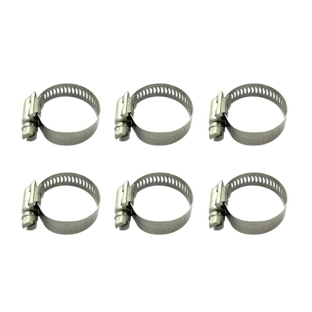 10-16mm Homyl Serre-Joints /à Tuyaux Collier de Serrage R/églable Inoxydable