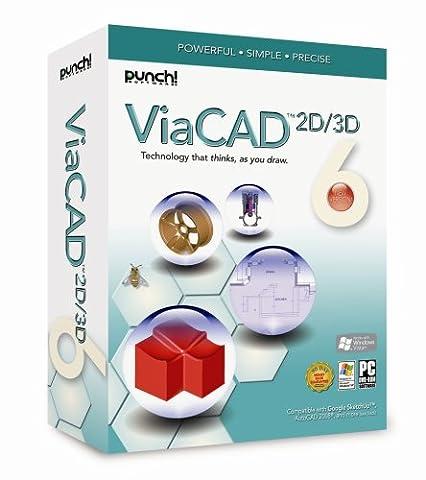 Punch! ViaCAD 2D/3D V6 [Old Version] (Cad Program Software)