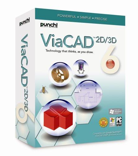 Punch! ViaCAD 2D/3D V6 [Old Version] by Punch Software