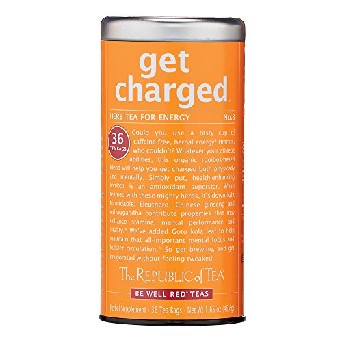 The Republic Of Tea  Get Charged Tea  36 Count