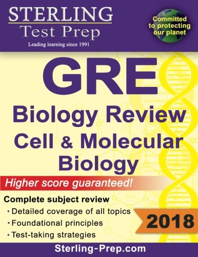 Sterling Test Prep GRE Biology Review: Cell and Molecular Biology