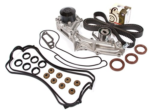 1995 Acura Legend 4 Door (Evergreen TBK193VCT Acura Legend 4-Door 3.2L C32A1 Timing Belt Kit Valve Cover Gasket Water Pump (1 outlet pipe))