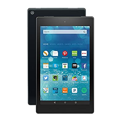 """Certified Refurbished Fire HD 8 Tablet, 8"""" HD Display, Wi-Fi, 16 GB - Includes Special Offers, Black (Previous Generation - 5th)"""