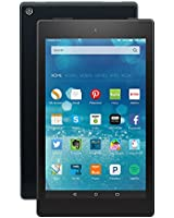 """Fire HD 8 Tablet, 8"""" HD Display, Wi-Fi, 8 GB - Includes Special Offers, Black"""