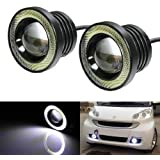 Benjoy 2Pc 3.5Inch Car Fog Lamp Angel Eye DRL Led Light For Maruti Suzuki Celerio