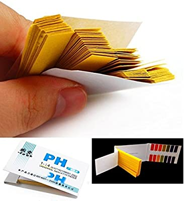 160x Test Crucial Popular pH Tester Strips Urine and Saliva Sensitive Evaluate Accurate Results with Color Chart