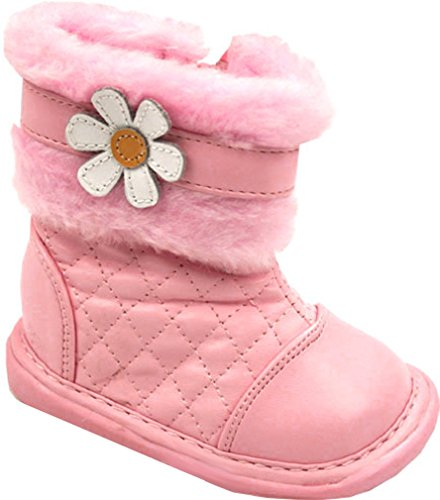 Girl's Pansy Boot in Pink Color: Pink, Size: 3