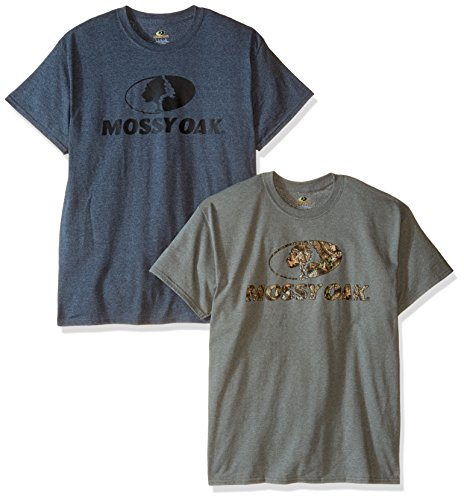 Men's Short Sleeve Graphic T-Shirts (2 Pack) by Mossy Oak