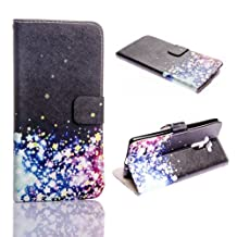Moto X Play Case,Kircher Leather Wallet Flip Pouch Fold Stand case for Moto X Play /XT1562/XT1563