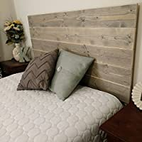 NEW King Gray Rustic Headboard - Sanded Edges