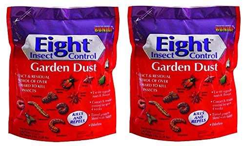 Bonide 78630 Eight Insect Control Garden Dust Pest Control, 3-Pounds, 2 Pack (Best Home Garden Vegetables)