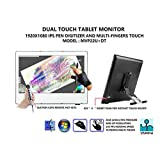 "YIYNOVA MVP22U+DT 21.5"" Dual Touch Full HD Pen/Finger Touch Tablet Monitor with VESA Stand (UC) (DVII)"