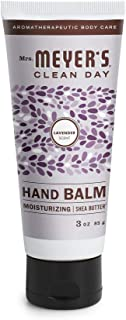 product image for Mrs. Meyer's Clean Day Moisturizing Hand Balm, Cruelty Free Formula, Travel Size, Lavender Scent, 3 oz