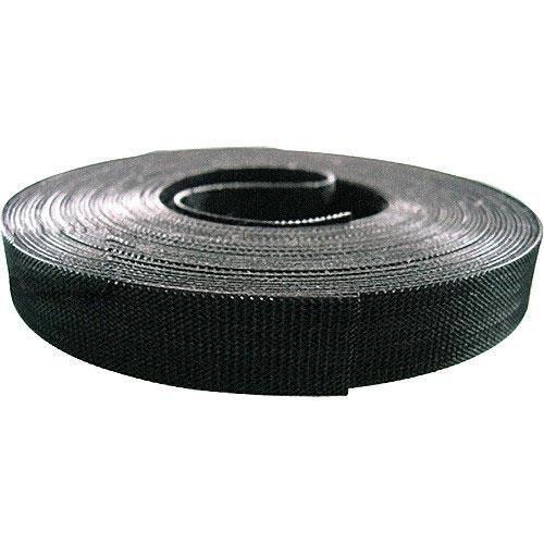 Bk Rip Tie (Rip-Tie WrapStrap Plus Reusable Cable Wrap for Cable Management, 1/2