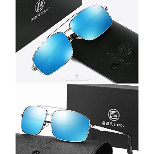 Driver 2 3 Sunglasses Lunettes Driving de DT Style Mirror Soleil New polarizing zTqfR