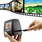 Photo : Digitnow 5/10Megapixels Stand Alone 2.4'' LCD Display Film/Slide Scanner 1800DPI High Resolution Picture Scanner in USB2.0 Interface Convert To PC