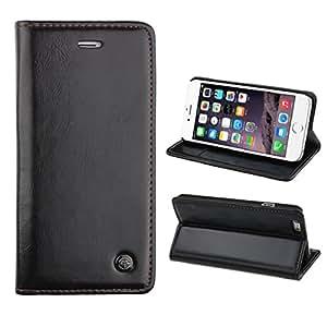 Bocideal® 1PC Caso Combo Card, Banco Card Bus Teléfono Holster para Iphone 6 4.7 Negro