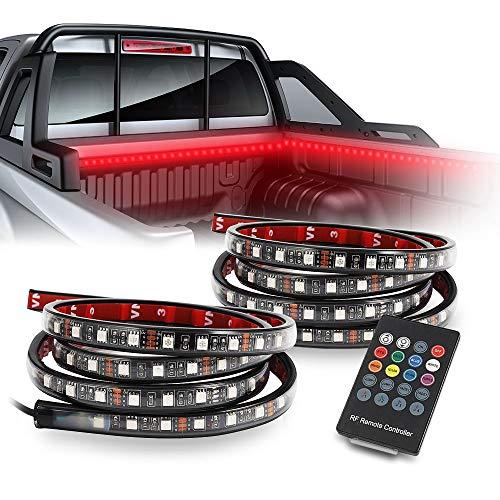 Auxbeam 2Pcs 60 Inch Smart RGB LED Truck Bed Lights Wireless
