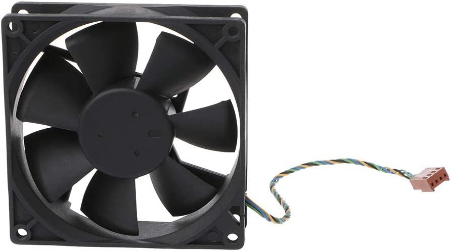 RITER 909025mm 9025 DC 12V 0.6A 4-Pin PWM Computer Cooling Fan for Delta AUB0912VH