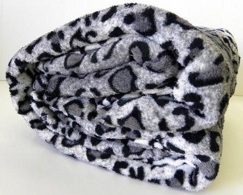 Microfiber Leopard Print Blanket AHF product image