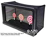 Well Multi-Function Auto Return Auto-Reset Bullseye Shooting Target W/BB Trap & Targets/Sheets (No Batteries Needed) Airsoft Shooting target/target tent trap/rotating shooting target