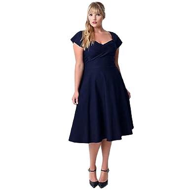 Amazon Gonkoma Womens Plus Size Dress Women Casual V Neck
