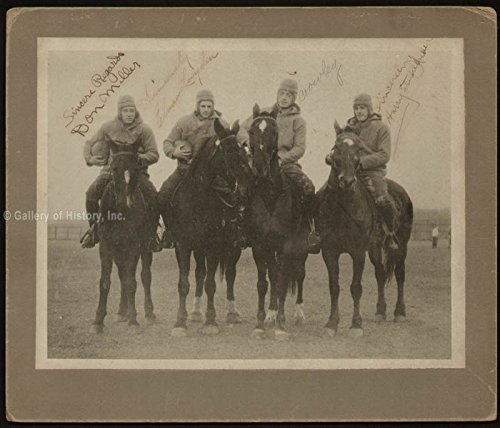The Four Horsemen Photograph Signed co signed By: Elmer Layden, Harry A. Stuhldreher, Don Miller