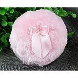 Topwon 3.5'' Soft Dusting Powder Puff Pink - Large Size (2 Pcs)