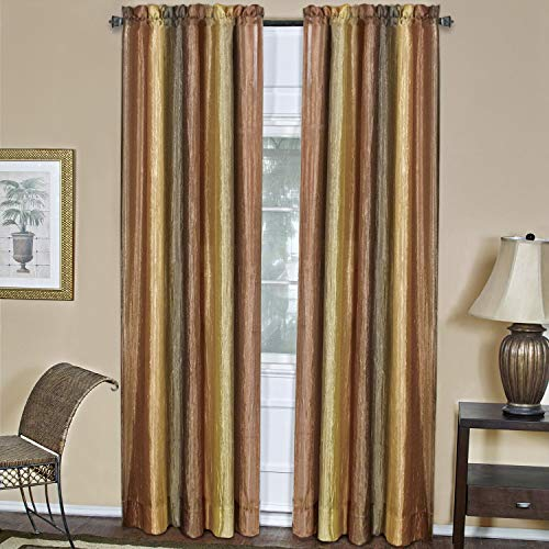 Achim Home Furnishings Ombre Window Panel, 50 63-Inch, Autumn, 50