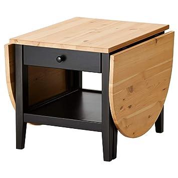 Amazon Com Ikea Coffee Table Black 826 20226 230 Kitchen