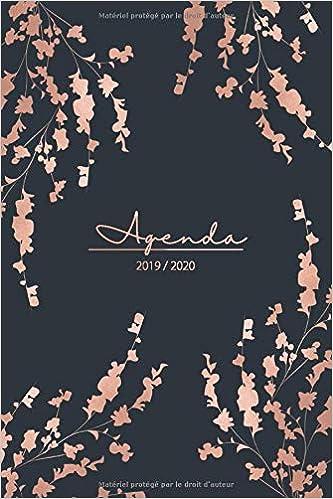 Amazon.com: Agenda 2019 2020: Agenda Journalier et Agenda de ...