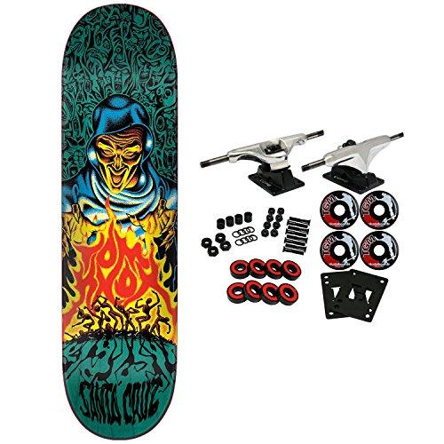 Santa Cruz Skateboard Complete Knox Firepit Pop Blue 8.25″