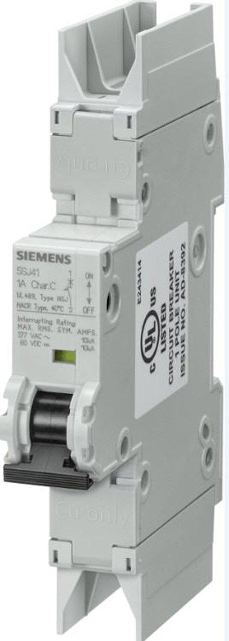 Siemens–Automatique magnetotermico 10kA 1pôle C 32A 489–277V 5SJ41327HG42