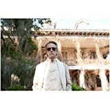 Beautiful Creatures Jeremy Irons as Macon Ravenwood standing in front of estate 8 x 10 Inch Photo